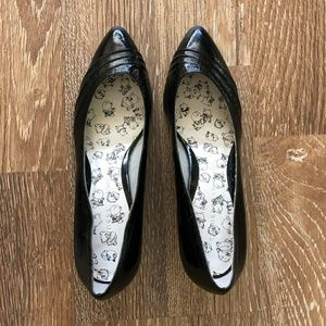 Chinese Laundry Black Leather Pumps